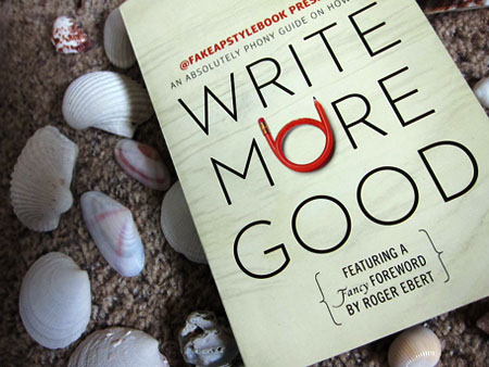 [Cover of Write More Good]